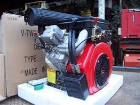 V2 diesel engine 16hp - picture1' - Click to enlarge