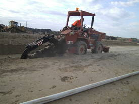 ditch witch 6520 subsoil trencher ,  595 hrs  - picture7' - Click to enlarge