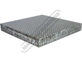 FBL60120-M CertiFlat fabBLOCK 3D Welding Table 600 x 1200 x 860mm (LxWxH) Tab & Slot U-Weld - picture3' - Click to enlarge