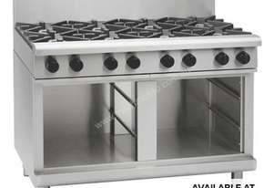 Waldorf 800 Series RNL8809G-CB - 1200mm Gas Cooktop Low Back Version `` Cabinet Base