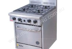 Goldstein PF-4-20 Gas 4 Burner Static Oven