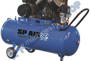COMPRESSOR 3HP 100LTR V TWIN CAST 240V