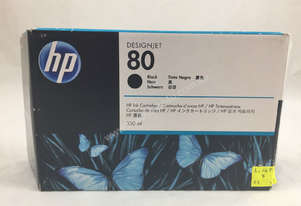 Hp Genuine   80 C4871A Black
