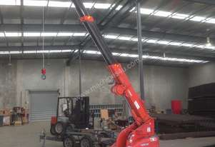 Spider Crane Kobelco FC-50 and Tandem Trailer