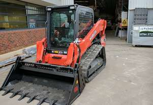 NEW 2017 KUBOTA SVL75 TRACK LOADER WITH WIDE RUBBER TRACKS