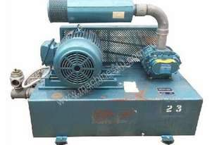 Blower and fan on skid