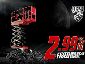 Athena 850 Bi-levelling Tracked Scissor Lift - 7.90m   Now Available at a low 2.99% Fixed Rate* - picture0' - Click to enlarge