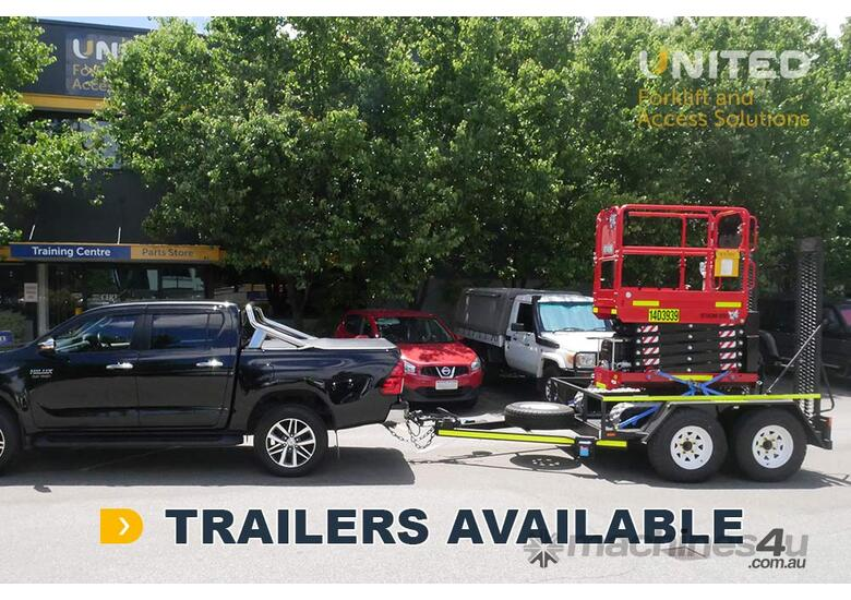 Athena 850 Bi-levelling Tracked Scissor Lift - 7.90m   Now Available at a low 2.99% Fixed Rate*