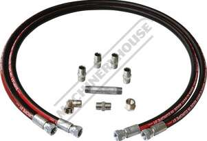 HH-12 2 x Connector Hoses With Fittings 1500mm Length (each)