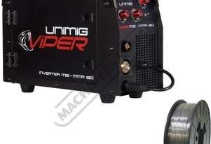 VIPER 150 Multi-Function Inverter Welder-MIG-MMA Package Deal 30-150 Amps #KUMJRVM150