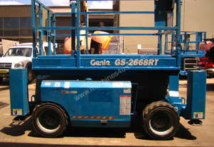 Genie GS2668 Rough Terrain Scissor Lift