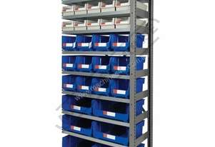 MSR-33E Industrial Modular Shelving Expansion Package Deal 898 x 465.4 x 2030mm Includes 15 x BK-164