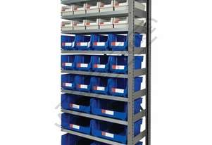 MSR-33E Industrial Modular Storage Shelving Expansion Package Deal 898 x 465.4 x 2030mm Includes 15