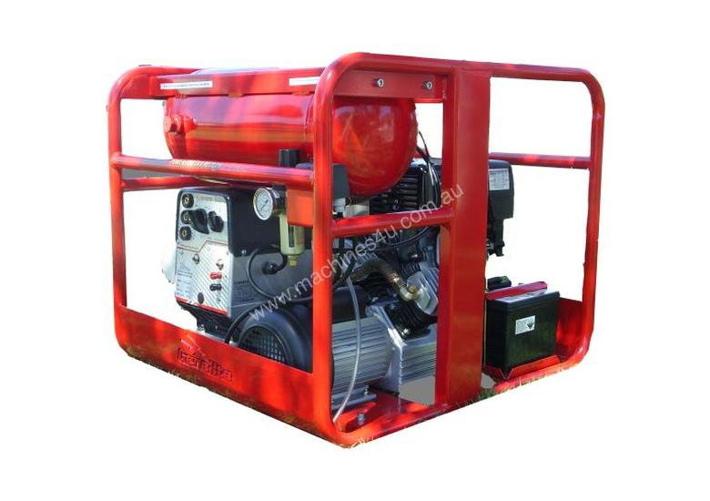 Genelite 7kVA 3 in 1 Welder Generator Workstation, powered by Honda