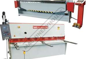 HG-2504 & PB-830T Hydraulic NC Guillotine & NC Panbrake Package Deal Ezy-Set NC-89 Guillotine - 2500