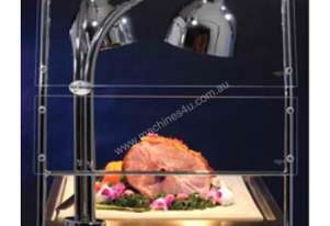 Alto Shaam CS-200S Double Heat Lamp Carving Station Sneeze Guard