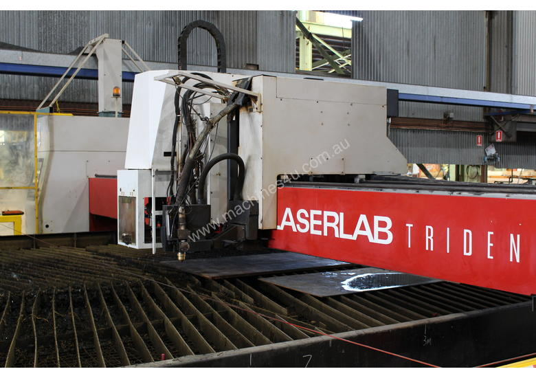 2nd Hand Farley LaserLab Trident Plasma & Drilling Machine (READY TO INSTALL)
