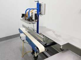 Stainless steel bench impulse heat sealer conveyor food bags - picture0' - Click to enlarge