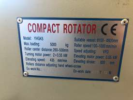 Used 5 Ton Clamping Compact Rotator - picture4' - Click to enlarge