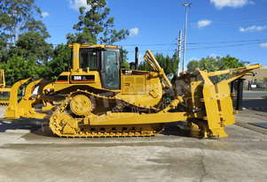 D6R XL Bulldozer w Stick Rake & Tree Spear DOZCATRT