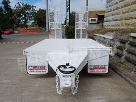 9 Ton ATM Tag Trailer WHITE ATTTAG - picture5' - Click to enlarge