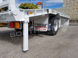 9 Ton ATM Tag Trailer WHITE ATTTAG - picture15' - Click to enlarge