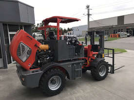 SUMMIT R420 4WD 2 Tonne ROUGH TERRAIN FORKLIFT with 2 Stage 3 Meter Mast & Side Shift - picture12' - Click to enlarge