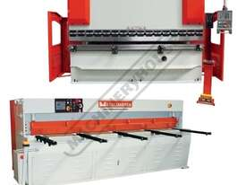 HG-1060B & PB-135B Hydraulic NC Guillotine & NC Pressbrake Package Deal Guillotine - 3100 x 6mm, Pre - picture0' - Click to enlarge