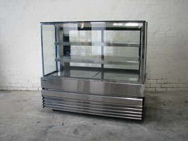 Shop Store Cafe Stainless Glass Door Fridge Refrigerated Display - picture0' - Click to enlarge