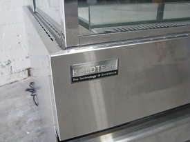 Shop Store Cafe Stainless Glass Door Fridge Refrigerated Display - picture1' - Click to enlarge