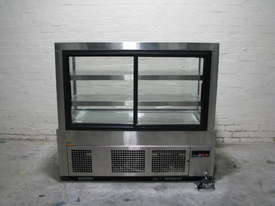 Shop Store Cafe Stainless Glass Door Fridge Refrigerated Display - picture3' - Click to enlarge
