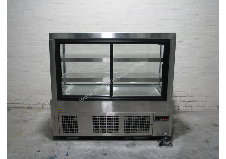 Shop Store Cafe Stainless Glass Door Fridge Refrigerated Display