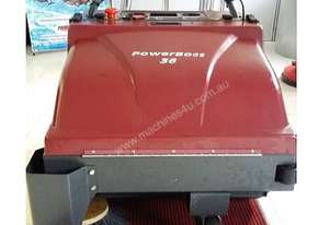 POWERBOSS PB36 - Walk Behind Sweeper