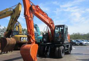 Used Hitachi 17 Tonne Wheeled Excavator – LOW HOURS
