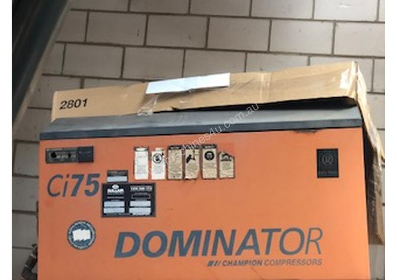 Champion Dominator 7.5 Screw Compressor