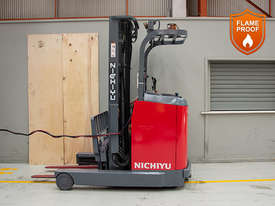 1.4T Battery Electric Stand Up Reach Truck - picture0' - Click to enlarge