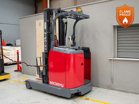 1.4T Battery Electric Stand Up Reach Truck - picture3' - Click to enlarge