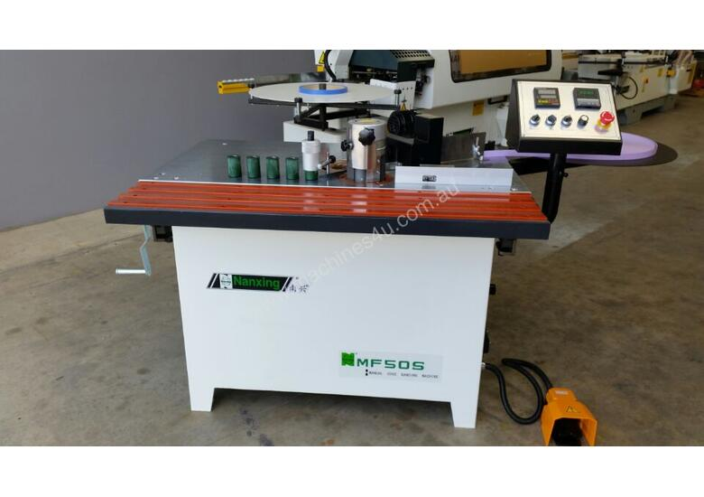 NANXING Contour Straight 0-45 Fingle pull Edge Banding Machine MF50S