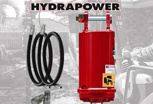 Hydrapower BU1 Auger Drive / Earth Drill suits Excavators to 3 Tonnes