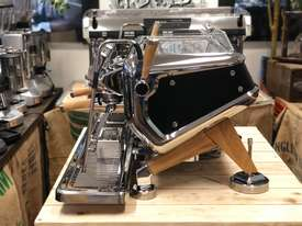 ASTORIA STORM 2 GROUP BLACK AND TIMBER BRAND NEW ESPRESSO COFFEE MACHINE - picture2' - Click to enlarge