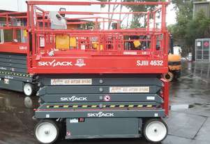 Skyjack Scissor Lift SJ4632 2 Person 9.7m Platform *EOFY SALE*
