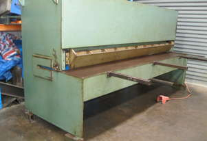 Australian Made 3000mm x 4mm Aluminium Hydraulic Guillotine