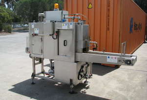 Industrial Conveyor High Pressure Washer Washing Machine - Caber Impianti