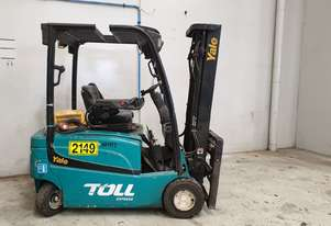 2.0T 4 Wheel Battery Electric Forklift