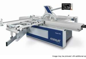 Format4 kappa 590 Double-tilt Panel Saw by Felder