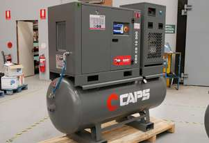 CAPS 2nd Generation CR5 CS 10 500 23cfm 5.5kW 10Bar Rotary Screw Air Compressor