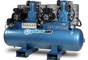K17 DUPLEX Pilot Super Duty Air Compressor 147 Litre Tank / 3hp<br>Get the maximum performance from