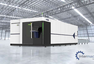 HSG 6020H 6kW Fiber Laser Cutting Machine (IPG source, Alpha Wittenstein gear)