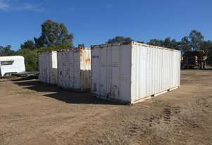 20 Foot Containers with Shelving
