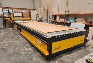 Advanced Robotic Technology Flatbed Nesting CNC